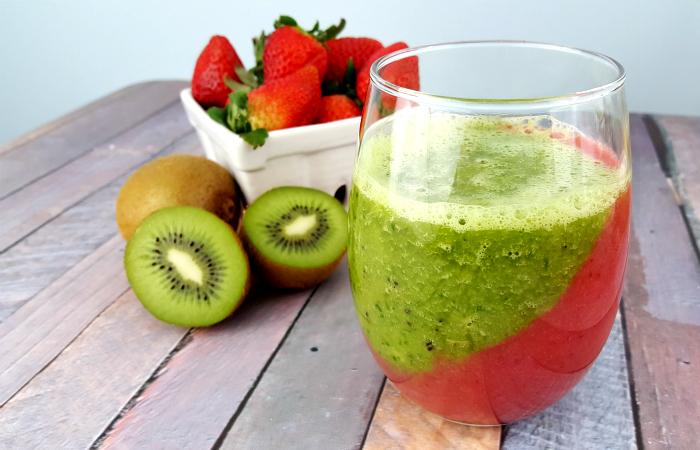 Strawberry-Kiwi-Smoothie