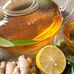 lime ginger tea